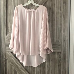 Vince Camuto Blush Pink Blouse NWT
